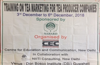 Business Planning and Operations Management  for small tea growers  in Guwahati.