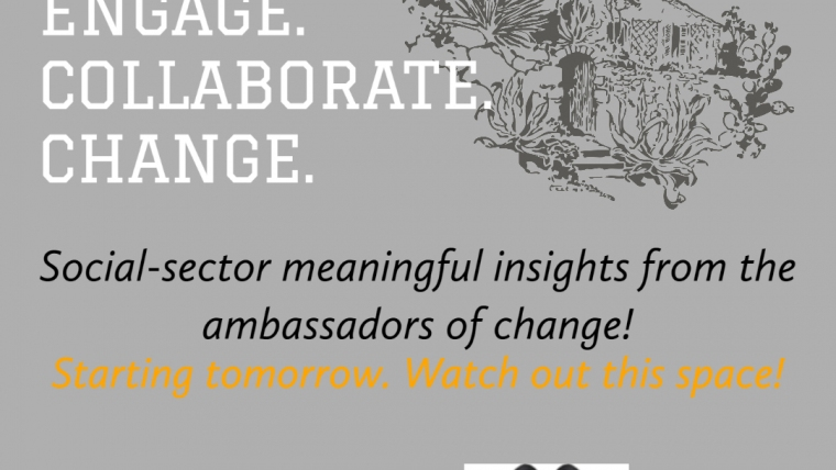 ENGAGE. COLLABORATE. CHANGE.- niiti consulting presents an online campaign to celebrate social sector works and experts!